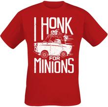 Minions - I Honk For Minions -T-skjorte - rød