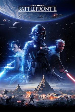 Star Wars Battlefront 2 plakat cover - Fruugo