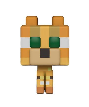 Minecraft pop! Vinyl figur 318 Ocelot lavet af plastik, Funko, i ga... - Fruugo