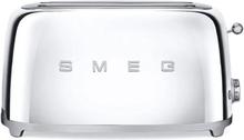 Smeg - Smeg Toaster 4 skiver, Krom
