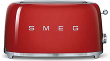 Smeg - Smeg Toaster 4 skiver, Rød