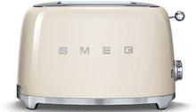 Smeg - Smeg Toaster 2 skiver, Creme