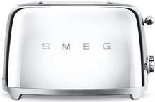 Smeg - Smeg Toaster 2 skiver, Krom