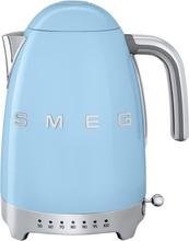 Smeg - Smeg Vannkoker Med Variabel Temperatur 1,7L, Pastellblå