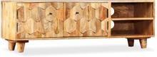 vidaXL TV-bänk massivt mangoträ 118x35x40 cm