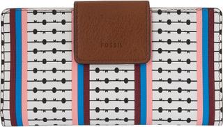 Fossil FOSSILA damer plånbok med RFID-chip skydd vit/multi 7112