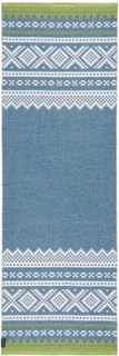 Marit gulvteppe 70 x 70 cm Blå - Grønn