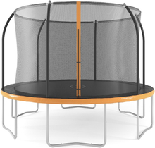 Studsmatta med säkerhetsnät - 365 cm