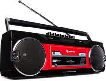 Duke DAB Kassettbandspelare Radio DAB+/FM BT USB SD teleskopantenn