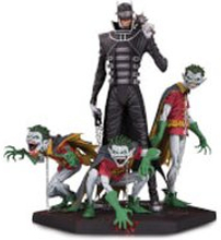DC Collectibles Dark Nights Metal Batman Who Laughs & Robins DLX Statue