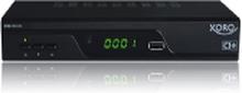 Xoro HRM 8761 CI+, Kabel, Terrestrisk, Fuld HD, DVB-C,DVB-T,DVB-T2, 1920 x 1080 pixel, 1080p, AVI,MKV,MP4,MPG,TS