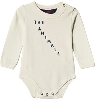 The Animals Observatory Wasp Baby Body White Blue The Animals 12 mnd
