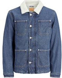 JACK & JONES Hank Jacket Cr 080 Denim Jacket Man Blå