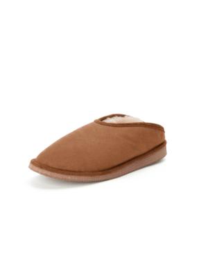 Lambskin slippers Kitzpichler brown