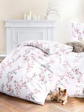 2-teilige Bettwäsche-Garnitur aus Feinbiber Janine mehrfarbig