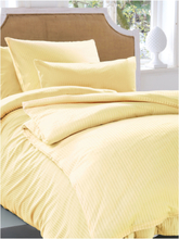Bettbezug ca. 135x200cm, Kissenbezug ca. 80x80cm Irisette gelb
