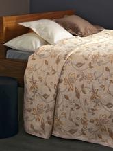Überwurf für Couch und Bett ca. 250x270 cm Peter Hahn weiss