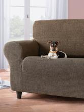 Sofahusse für 3-Sitzer ca.75−90cmx185x210cm (HxB) Peter Hahn braun