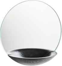 Woud Pocket Mirror, small black 26 cm