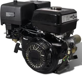 Benzinmotor med elektrisk start 15 hk 11 kW sort