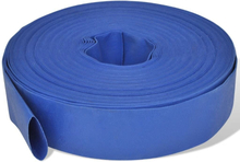 """Flad slange 50 m 2"""" PVC til transport af vand"""