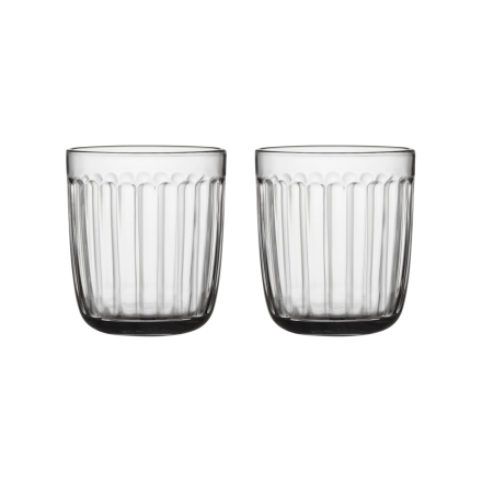 Iittala Raami glass 26cl klar 2-pk