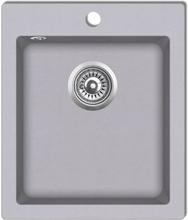 Nedfældningsvask til køkkenet enkeltvask granit grå