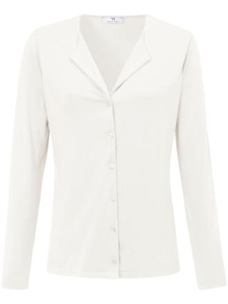 Jerseyskjorte Fra Peter Hahn hvid - Peter Hahn