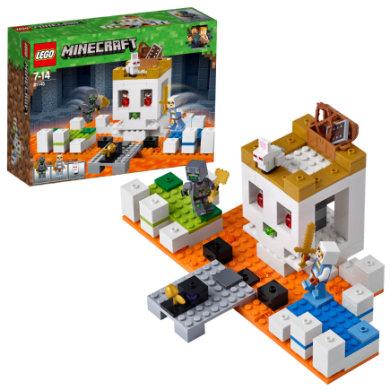 Lego ® Minecraft™ - Kraniearenaen 21145 - pinkorblue