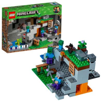 Lego ® Minecraft™ - Zombiehulen 21141 - pinkorblue