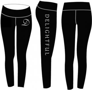 Delightful Black Tights (M)