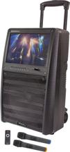 Karaoke anläggning med TFT-skärm, Bluetooth och mikrofoner