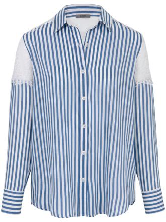 Bluse detaljer i gennemsigtige blonder Fra Riani multicolor - Peter Hahn