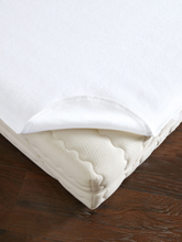 Spannauflage aus Baumwolle, ca. 100x200cm Dormisette weiss