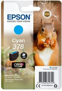 Epson Epson 378 Blækpatron cyan, 360 sider