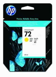 HP Blekkpatron Gul Vivera Nr 72, 69ml