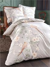 Bettbezug ca. 135x200cm, Kissenbezug ca. 80x80cm Elegante beige