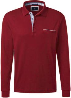 Poloshirt lange ærmer Fra Pierre Cardin rød