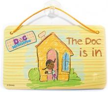 Doc McStuffins dørskilt, 6 stk