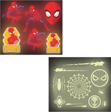 Spiderman klistermærker, 16 stk