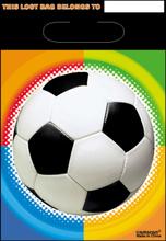 Fodbold slikposer, 8 stk