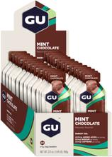 GU Energy Gel Box 24 x 32g Mint Chocolate 2020 Näringstillskott & Paket