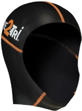 Dare2Tri Neoprene Badehette black/orange 2019 Badehetter