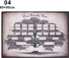 Family Tree Chart Diagram 60x90cm
