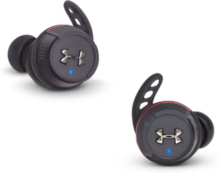 Under Armour True Wireless Flash - By JBL - Replacement Kit Black - TIlbehør Og Reservedele Hovedtelefoner