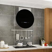 Vægmonteret emhætte LCD-display touchsensor 756 m³/t. LED