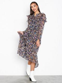 Neo Noir Isa Flower Dress