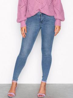 Gina Tricot Molly High Waist Jeans Blå