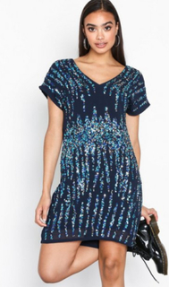 Y.A.S Yastrighty Sequin Dress - Da Loose fit