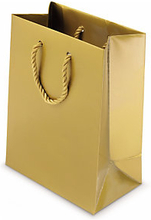 Lack Tasche 19 x 10 x 27 cm gold
